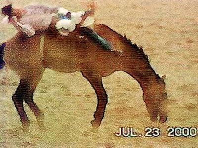 Buckskin Bronc, Bareback Rider 2