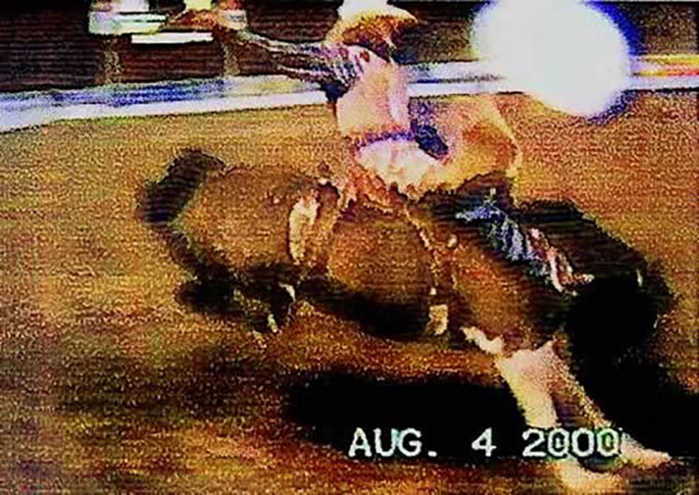 Reaching For It, Saddle Bronc Rider 1
