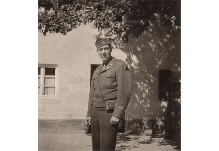 US Major Raymond J. Getz
